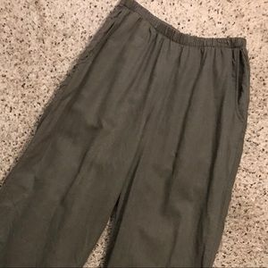 Flax Small Dark Olive Pants
